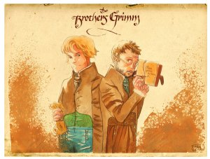 The Brothers Grimm by Fran85 on DeviantArt.com